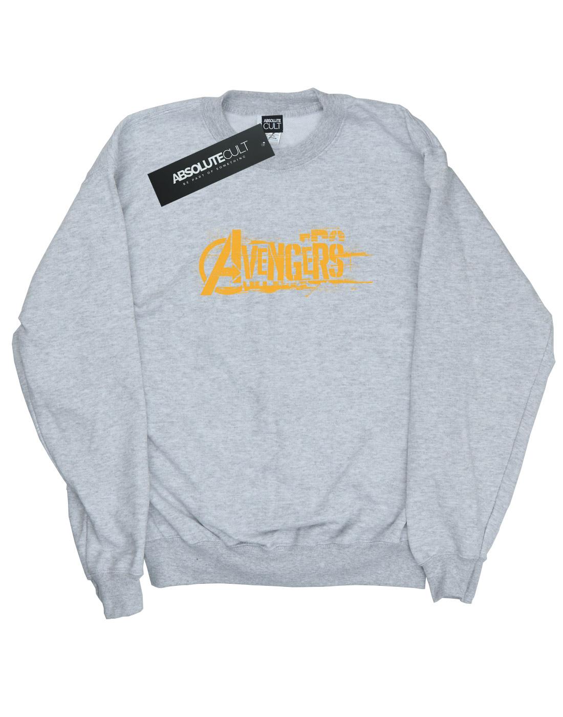 Avengers Damen Infinity War Orange Orange Orange Logo Sweatshirt | Verrückter Preis  | Spielen Sie das Beste  | Hochwertige Produkte  | Clearance Sale  | Hohe Qualität  3df312