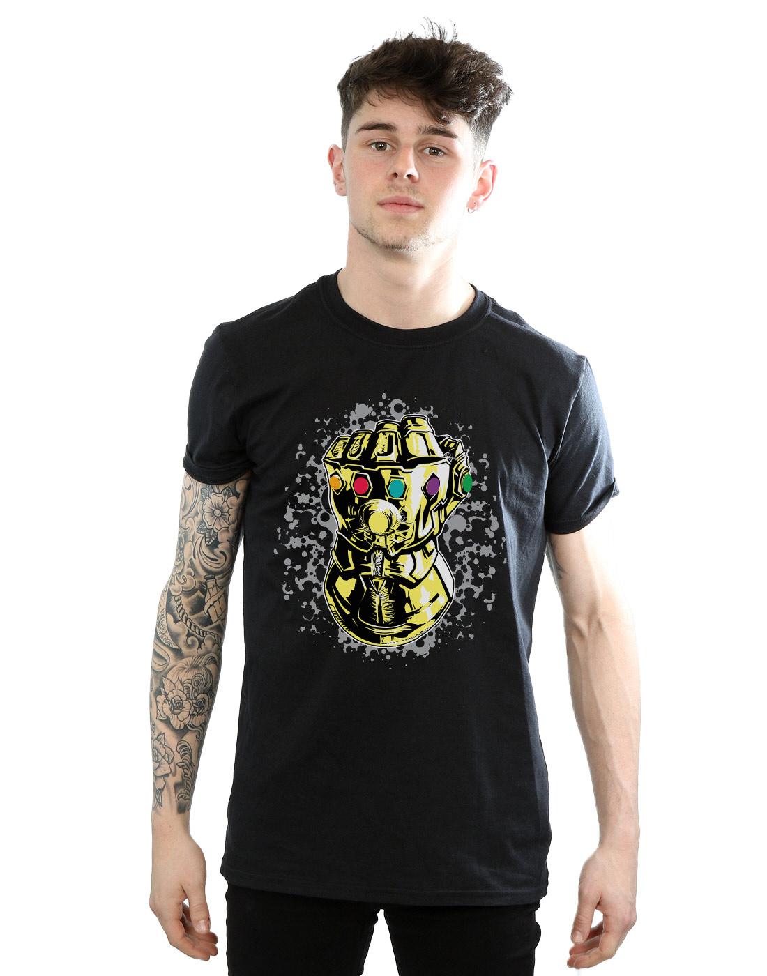 Avengers-Infinity-guerre-Tee-Shirt-Homme-officiel-nouveau-Marvel-Merchandise miniature 38