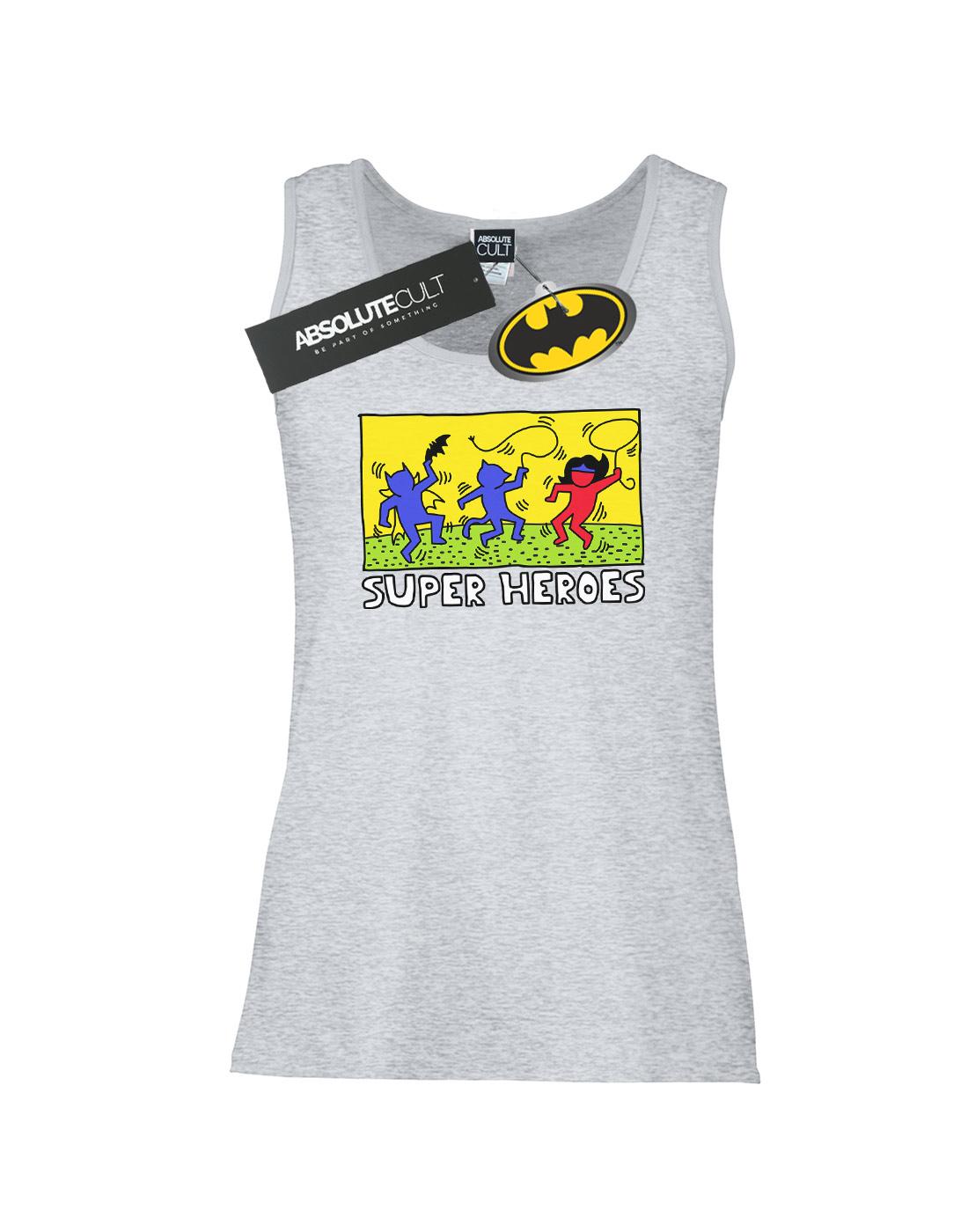 DC-Comics-Women-039-s-Batman-Pop-Art-Tank-Top thumbnail 8
