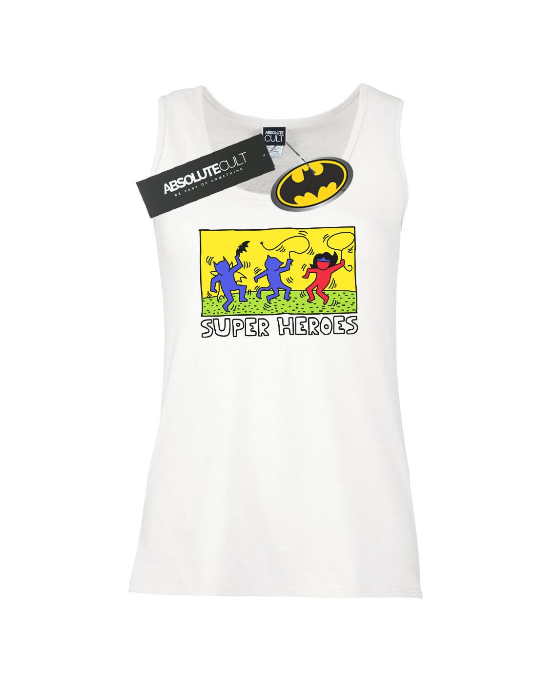 DC-Comics-Women-039-s-Batman-Pop-Art-Tank-Top thumbnail 11