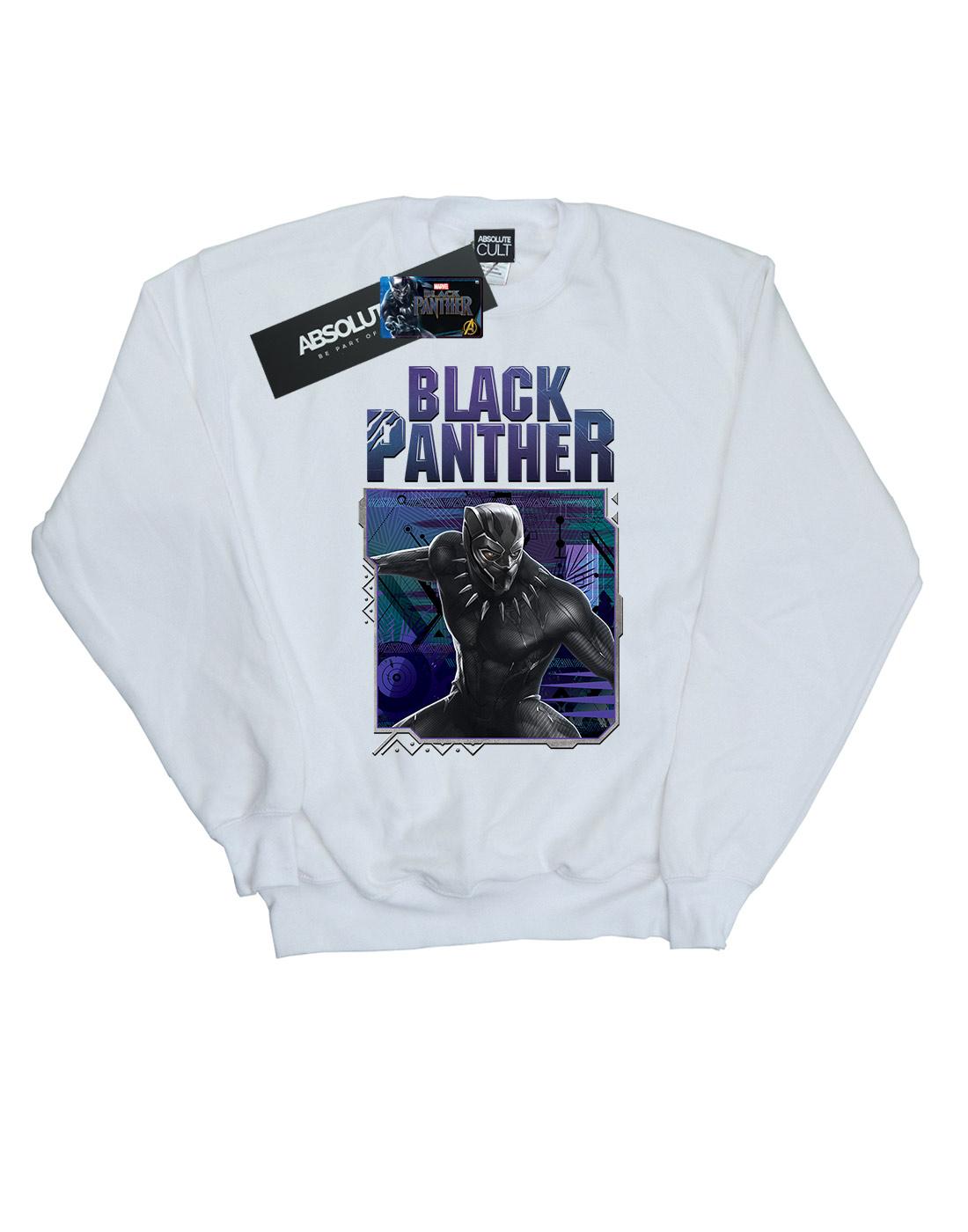 Marvel Panther Felpa Black Tech Uomo Badge FF78x6rw
