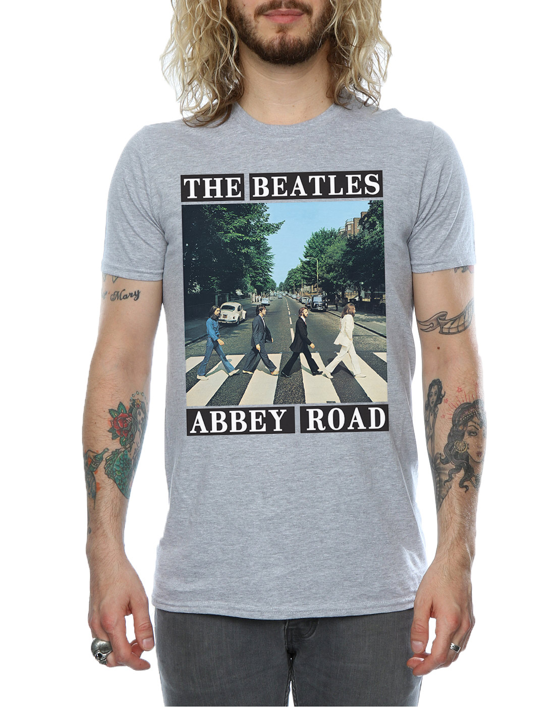 The-Beatles-Homme-Abbey-Road-T-Shirt