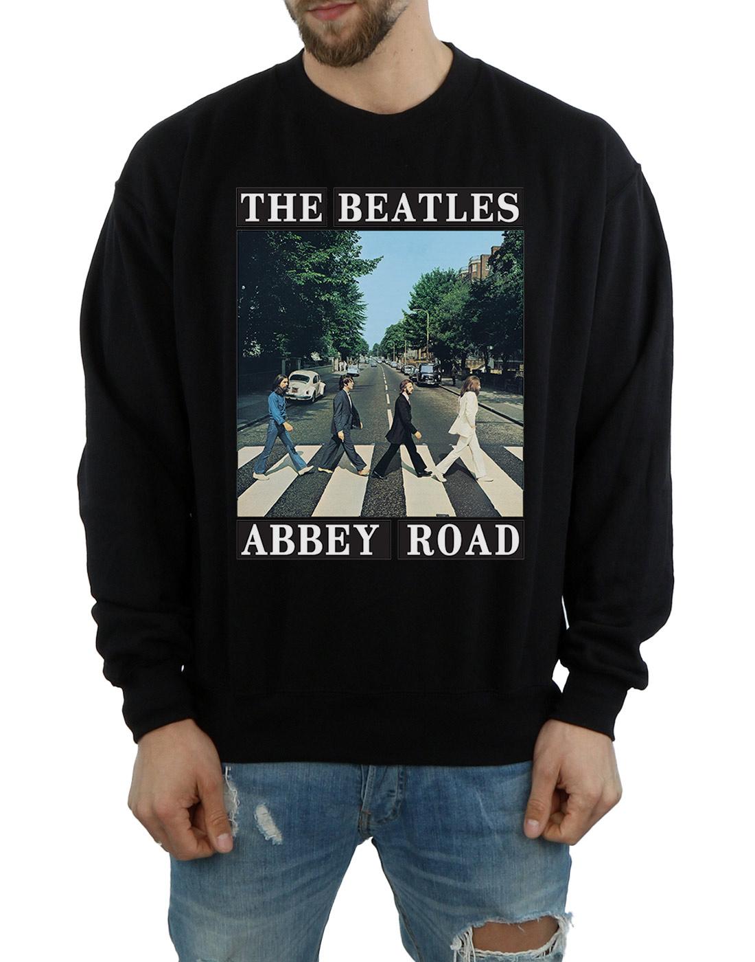 The-Beatles-Men-039-s-Abbey-Road-Sweatshirt thumbnail 9