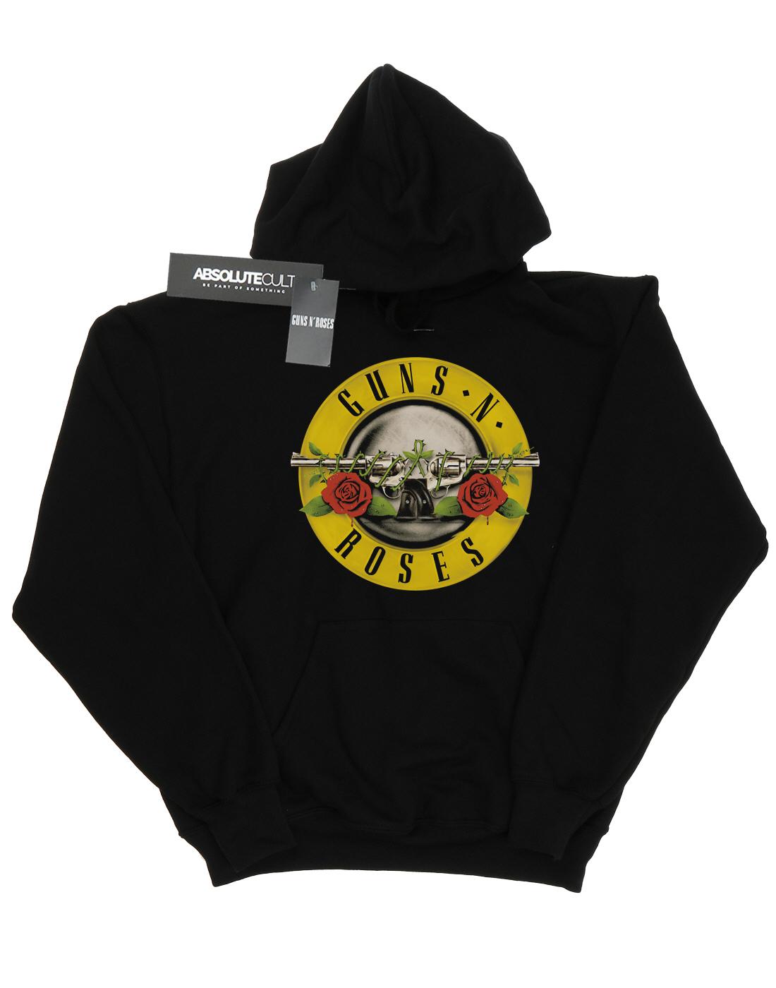 Guns Guns Guns N rosas Donna Bullet Logo Felpa con cappuccio 8c76d9