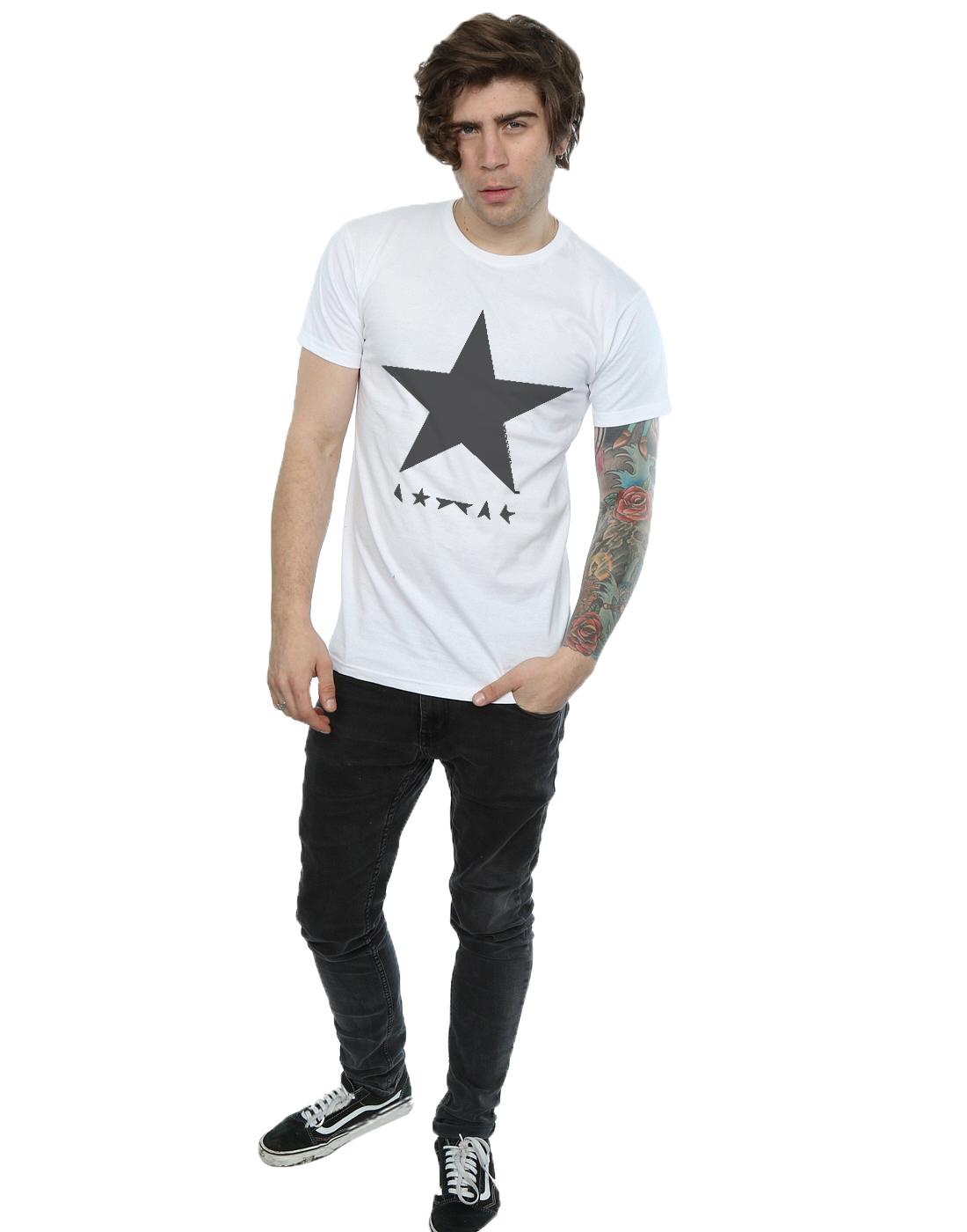 David-Bowie-hombre-Star-Logo-Camiseta