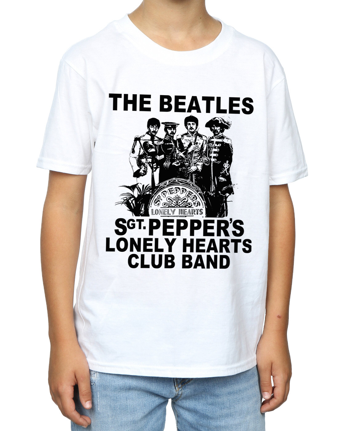 The-Beatles-ninos-Lonely-Hearts-Club-Band-Camiseta