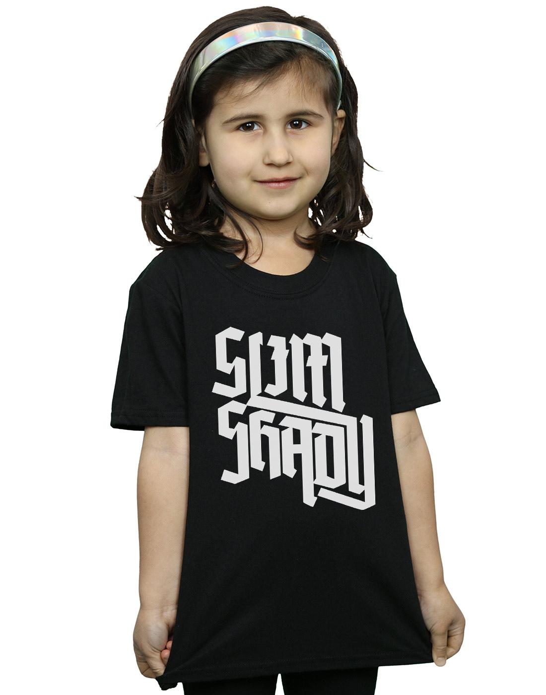 81365b2c964afc Eminem Girls Slim Shady Text T-Shirt