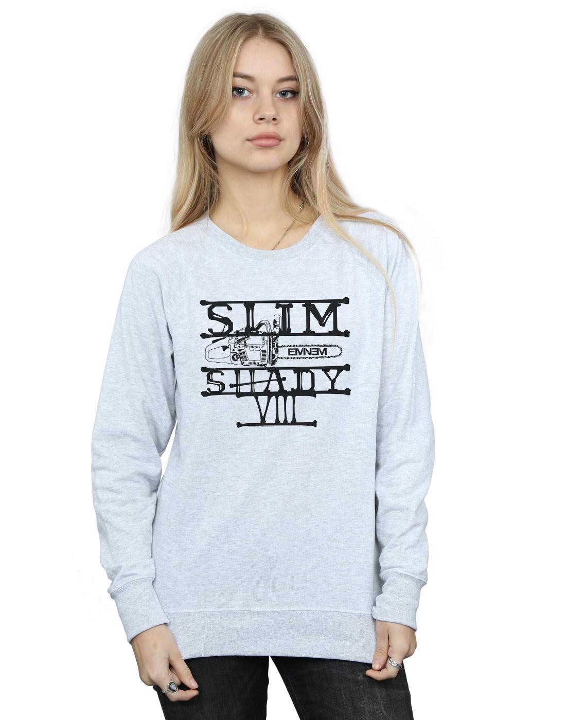 6b3ce598bae73c Eminem Women s Slim Shady Chainsaw Sweatshirt