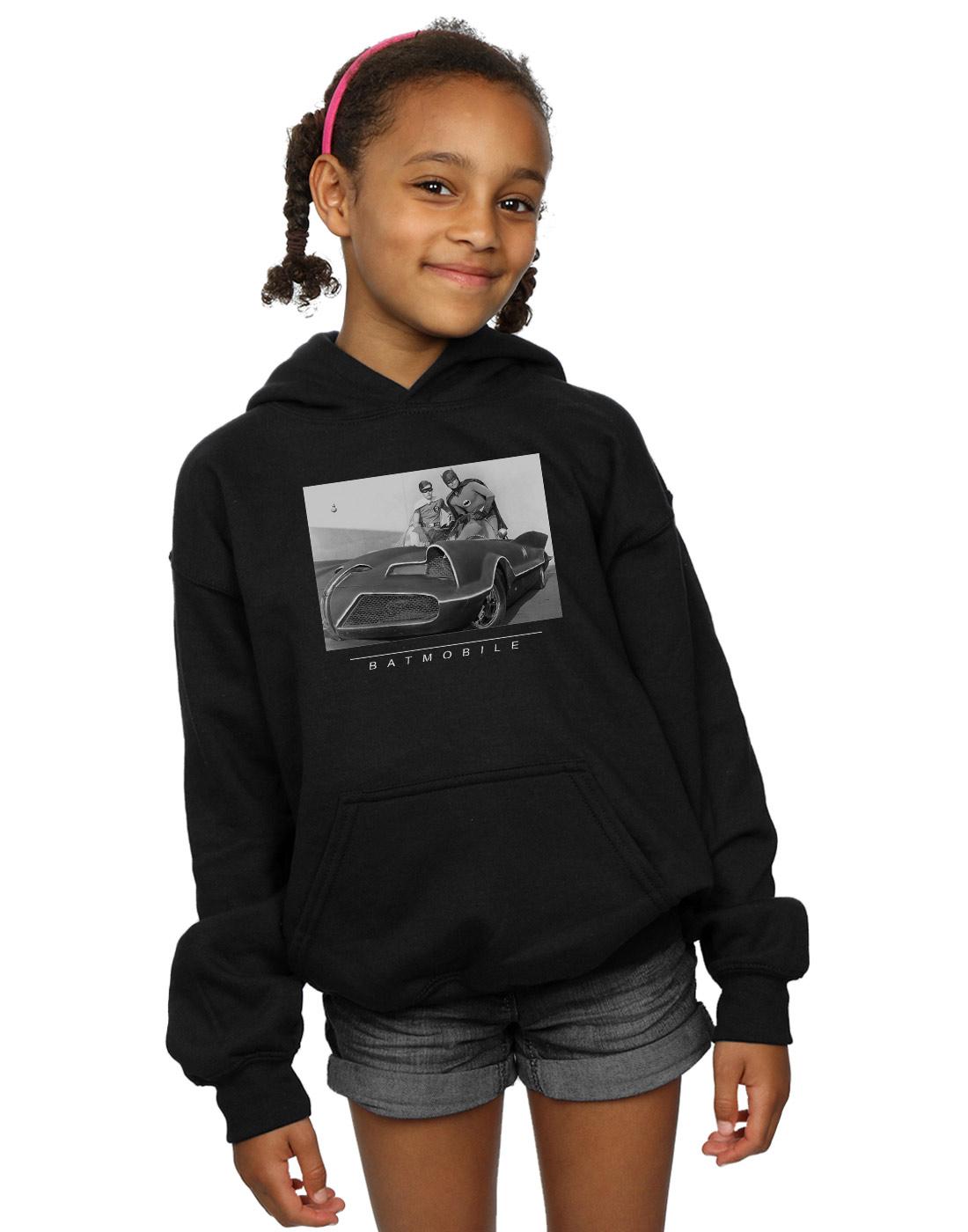 DC Comics Girls Batman TV Series Batmobile Sweatshirt
