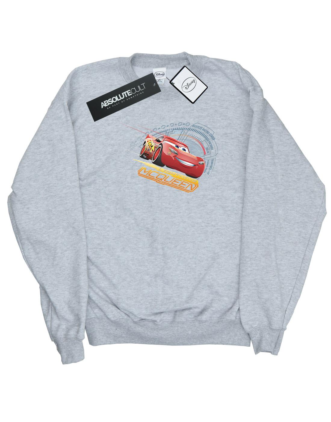 Disney-mujer-Cars-Lightning-McQueen-Camisa-De-Entrenamiento