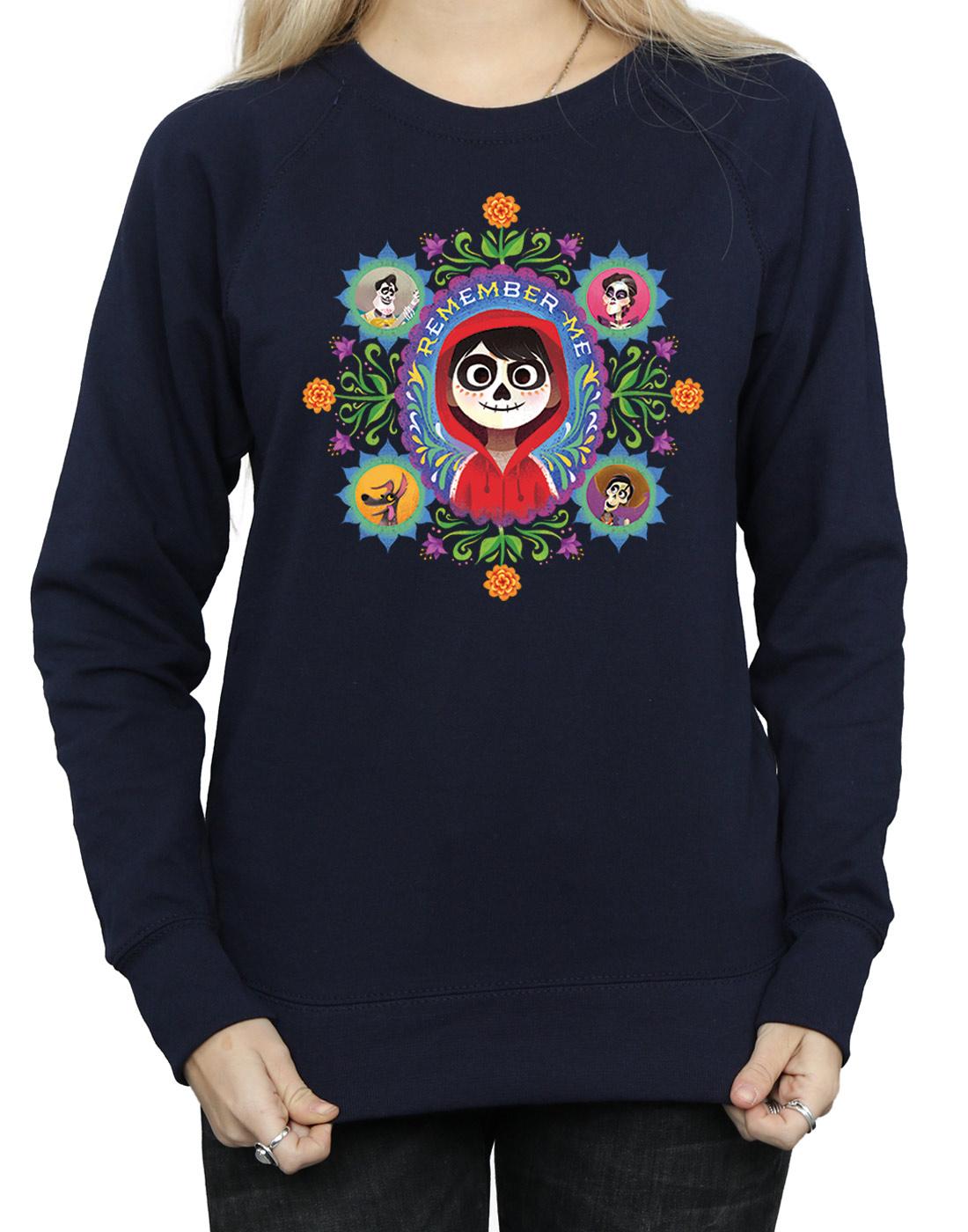 Disney Pixar Coco Juniors/' Bell Sleeve Graphic Sweatshirt  Lightweight