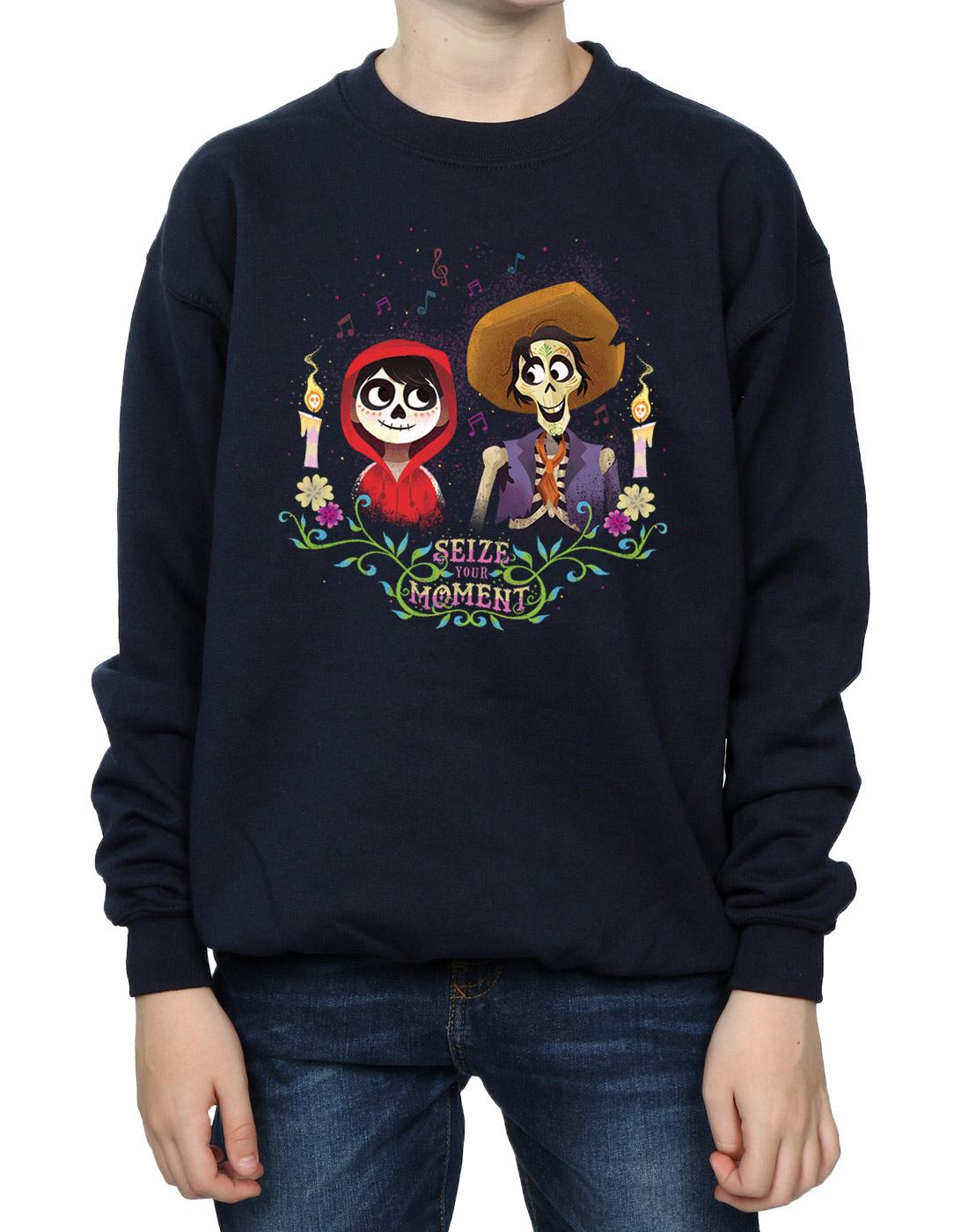 aa118ca70bd5 Disney-Boys-Coco-Miguel-And-Hector-Sweatshirt thumbnail 14