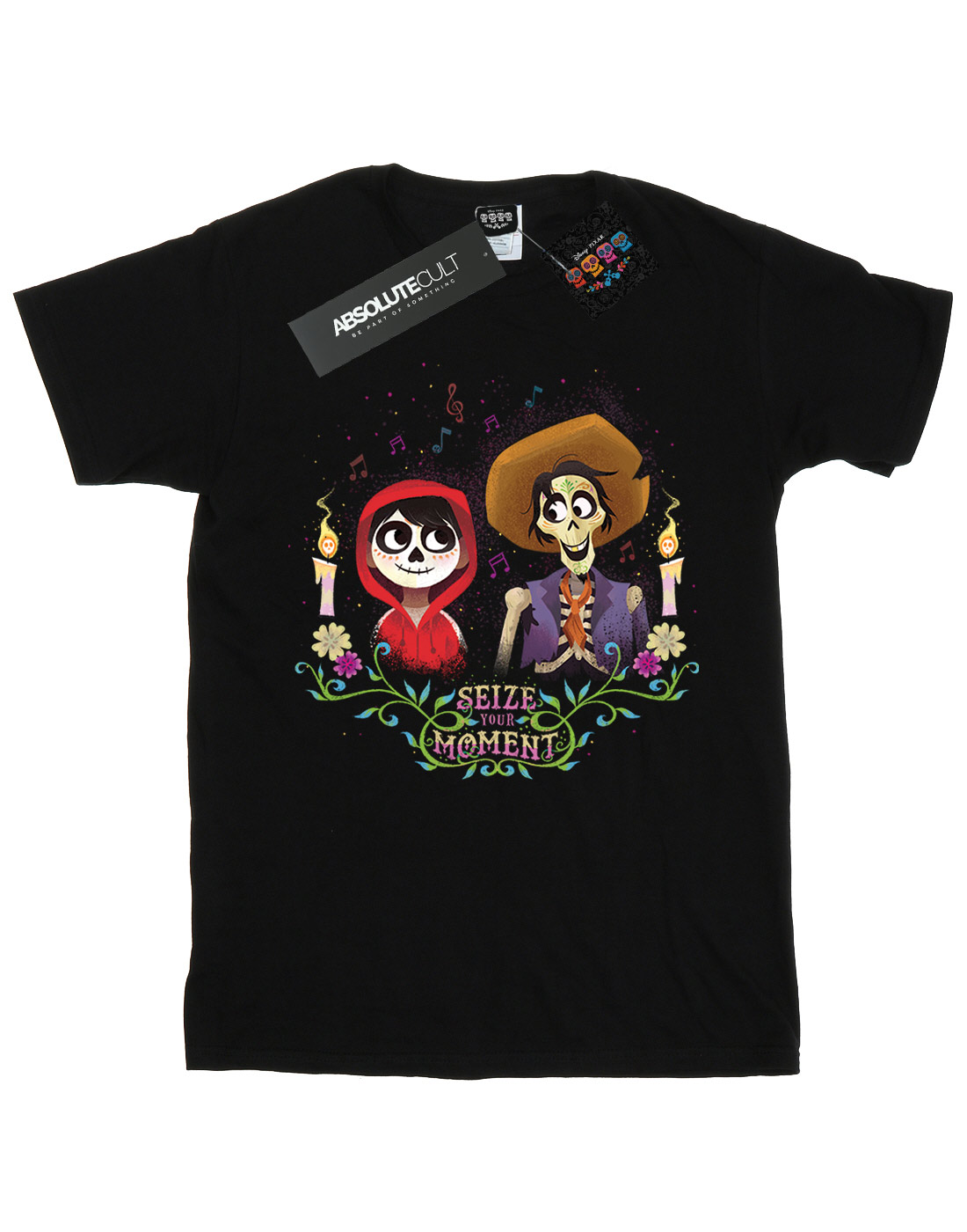 Disney-ninas-Coco-Miguel-And-Hector-Camiseta