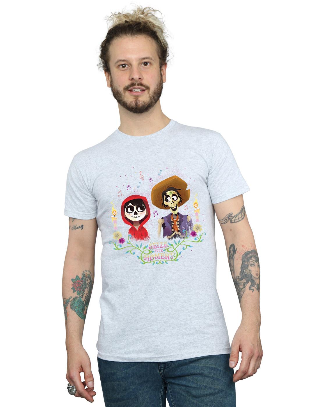 Disney Hombre Coco Miguel and Hector Camiseta V88dzOCK