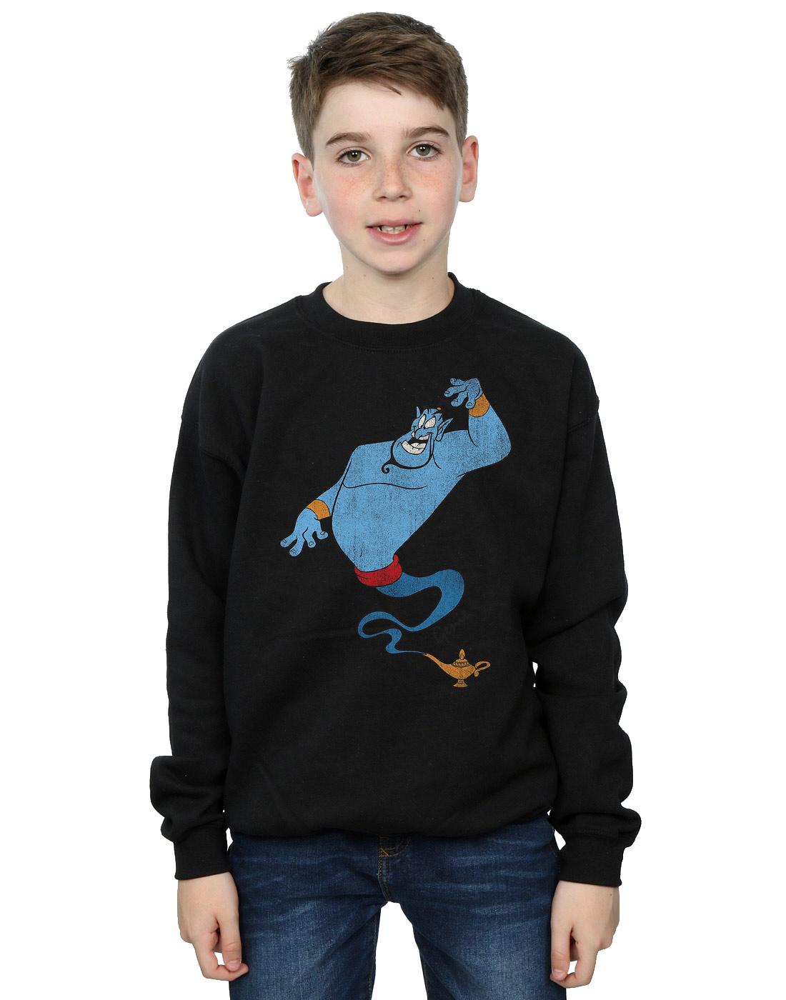 Disney-Garcon-Aladdin-Classic-Genie-Sweat-Shirt