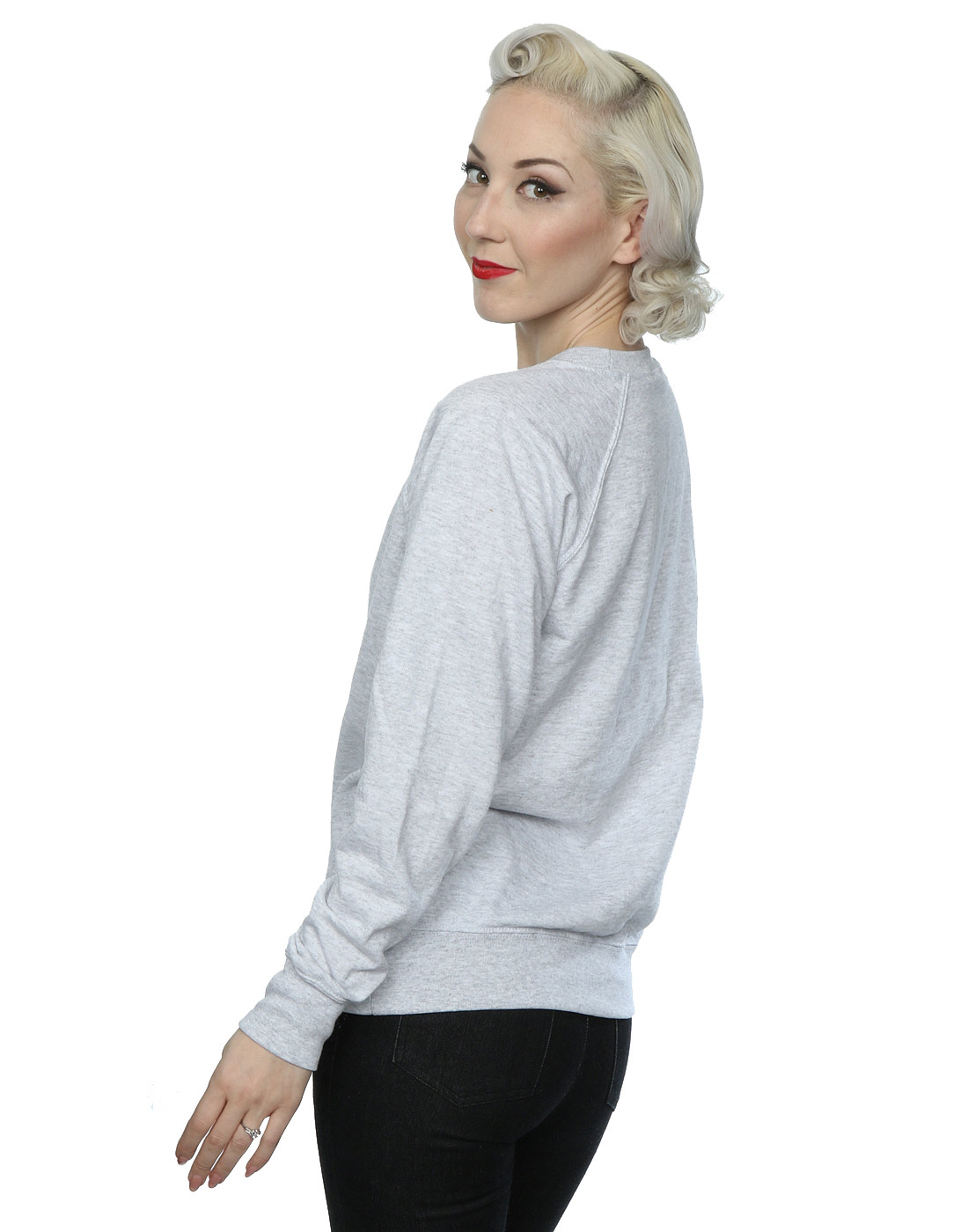 Disney-Damen-Bambi-Retro-Poster-Sweatshirt