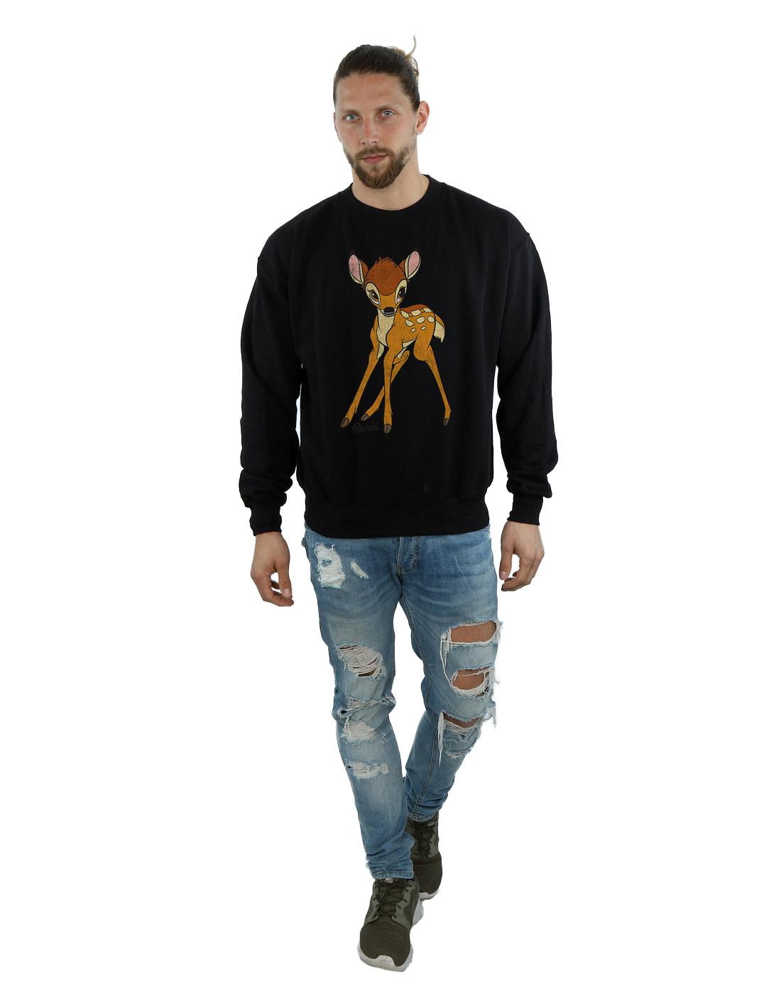 Disney-Herren-Bambi-Classic-Bambi-Sweatshirt