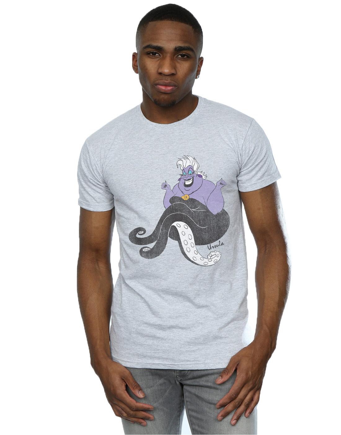 Disney-Homme-The-Little-Mermaid-Classic-Ursula-T-Shirt