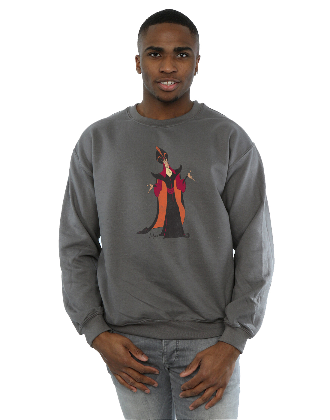 Disney-Homme-Classic-Jafar-Sweat-Shirt