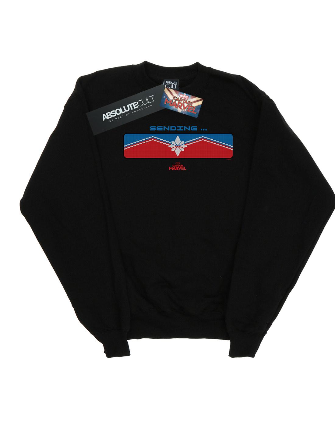 Marvel Herren Captain Captain Captain Marvel Sending Sweatshirt 4d3e07
