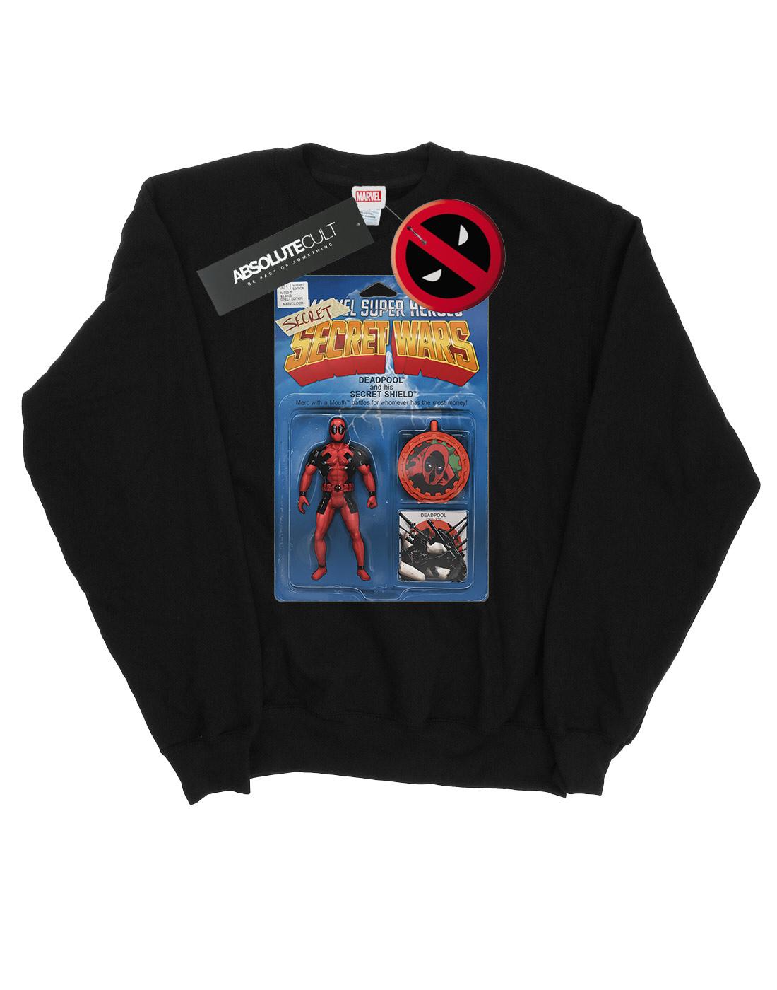 Deadpool Marvel Wars Action cappuccio Secret con Homme Figure Felpa ZIzwRq7