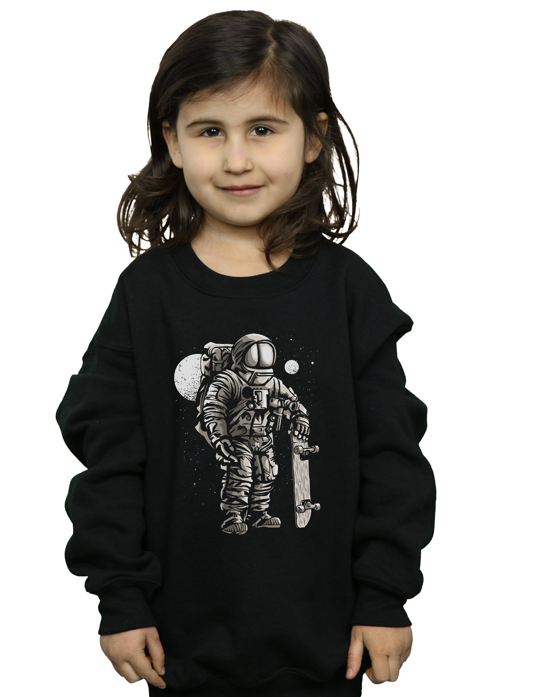 ABSOLUTECULT Drewbacca Girls Phone Kid Sweatshirt