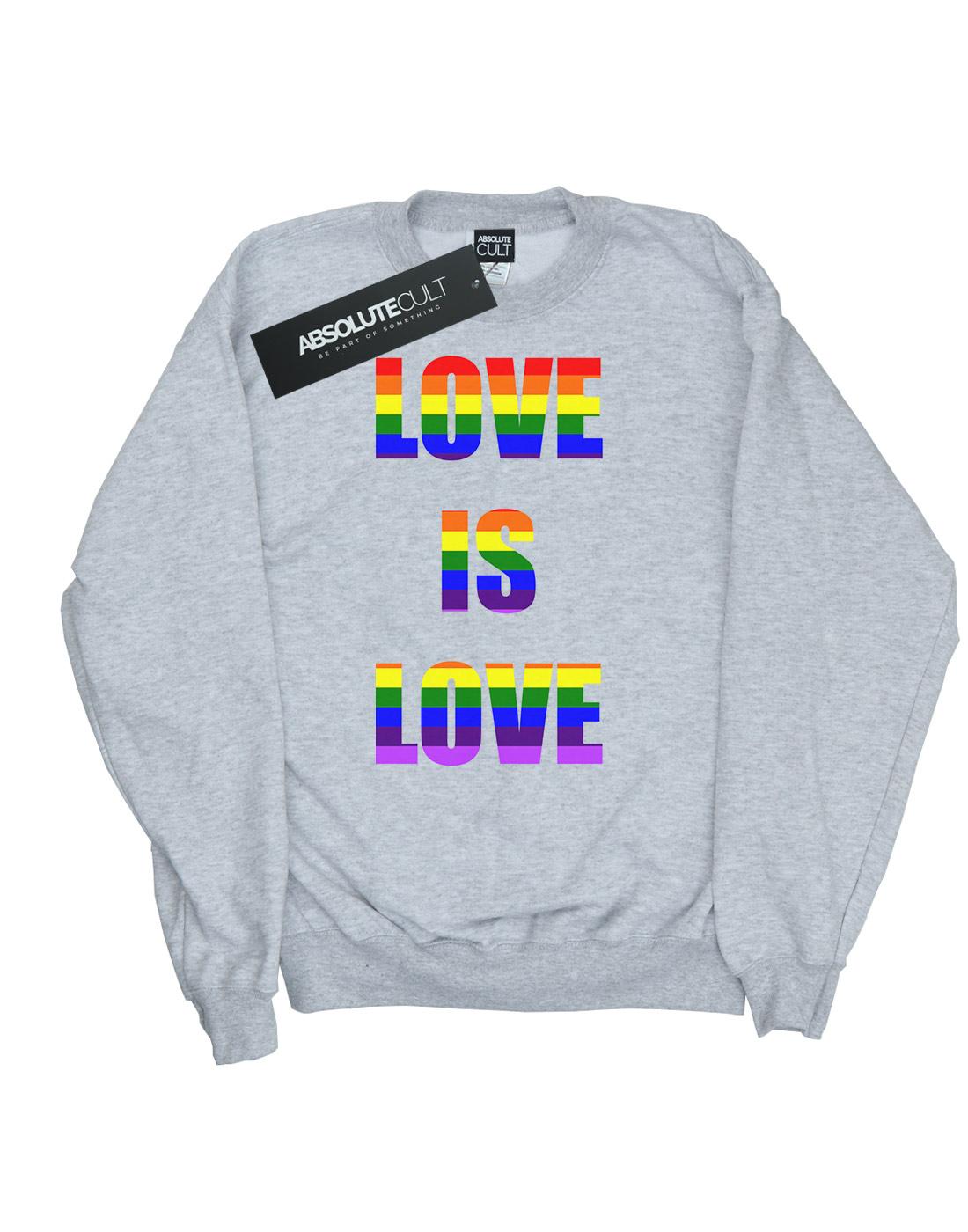 Drewbacca Herren Love Is Love Sweatshirt  | | | Verschiedene Stile und Stile  | Geeignet für Farbe  | Neue Produkte im Jahr 2019  0c9ea2