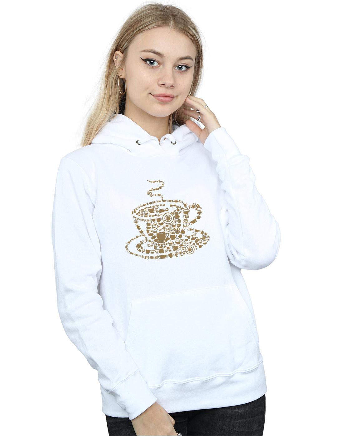 Drewbacca Damen Coffee Cup Kapuzenpullover | Lebendige Lebendige Lebendige Form  | Große Klassifizierung  | Sale Online  | Bekannt für seine gute Qualität  | Verrückter Preis  12301f