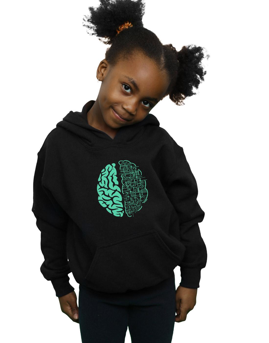 Absolute Cult Drewbacca Girls Electric Brain Sweatshirt
