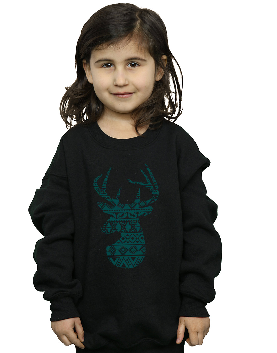 Absolute Cult Drewbacca Girls Deer Gentleman Sweatshirt
