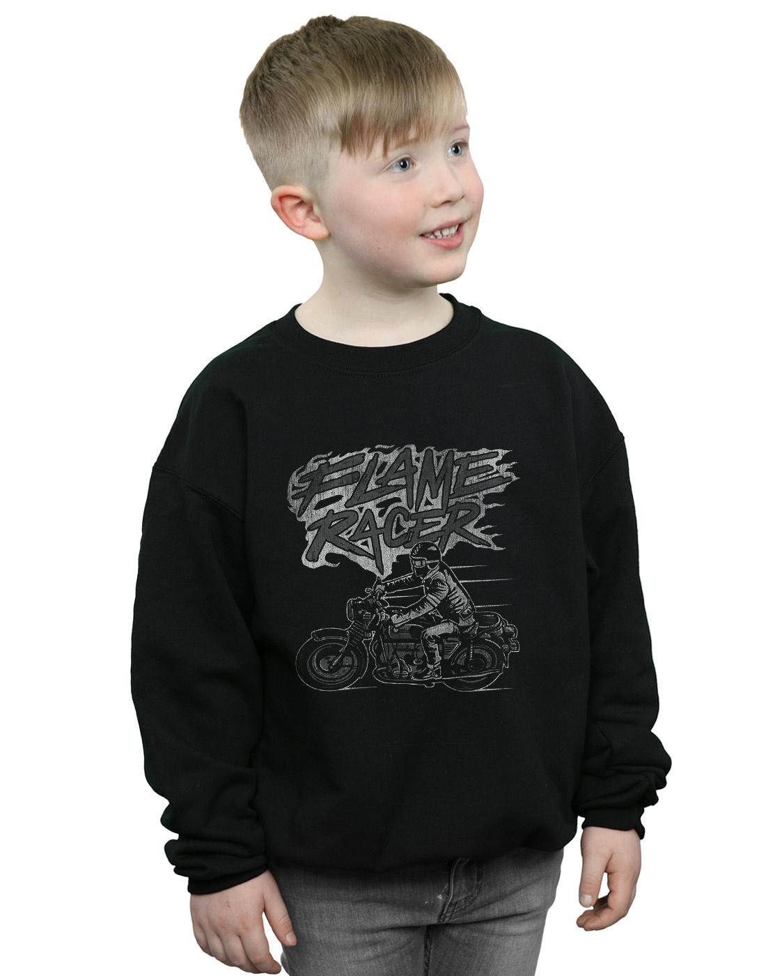 Drewbacca Girls Moto Racer Sweatshirt