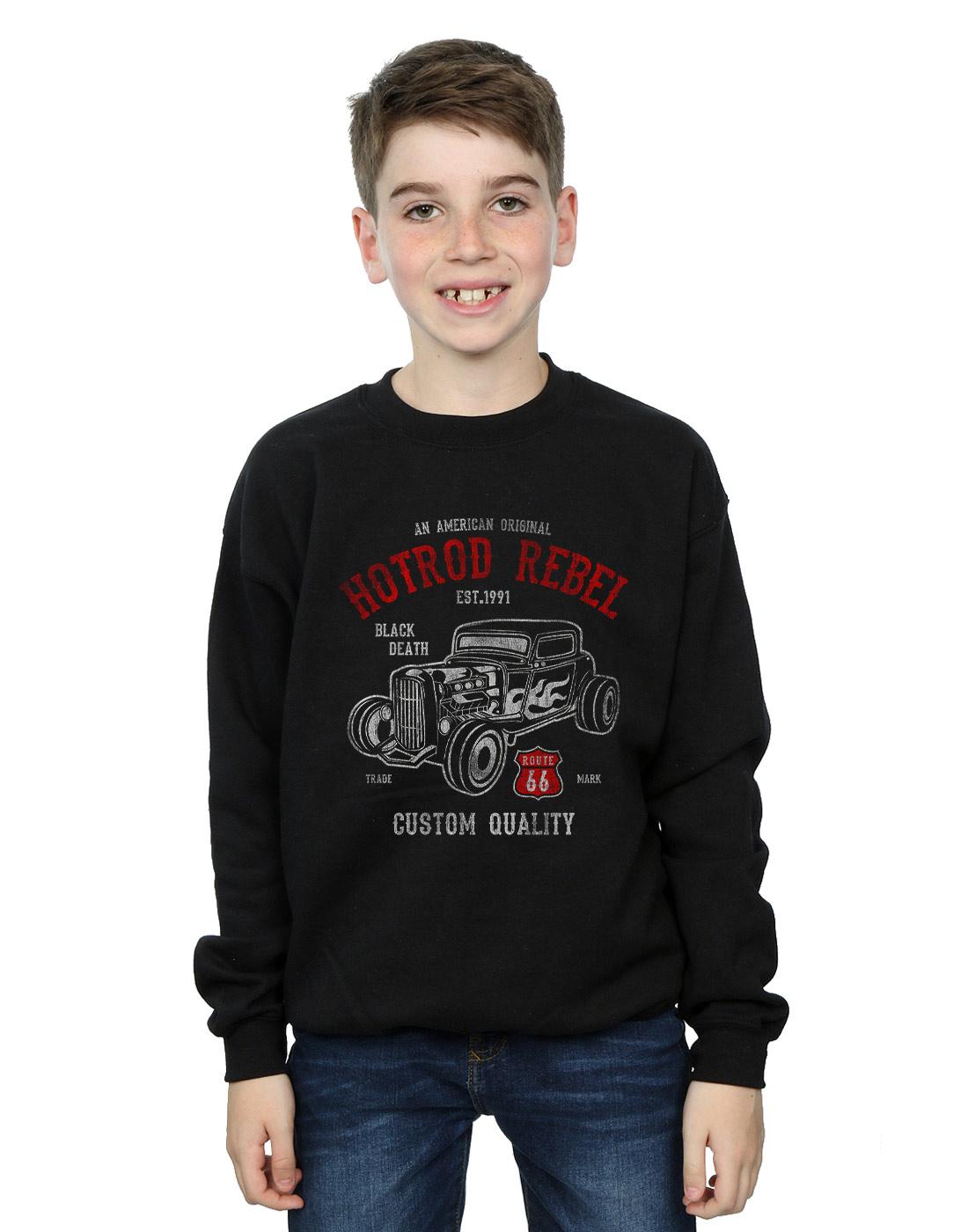 Hotrod Rebel Custom Kids Sweatshirt