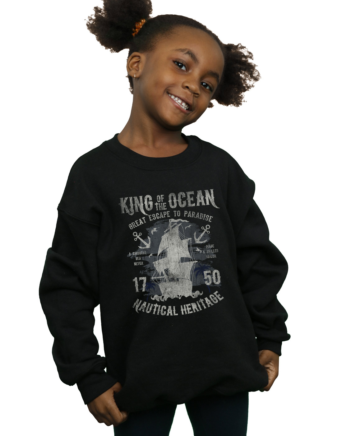 Drewbacca Girls Get Back to Nature Sweatshirt