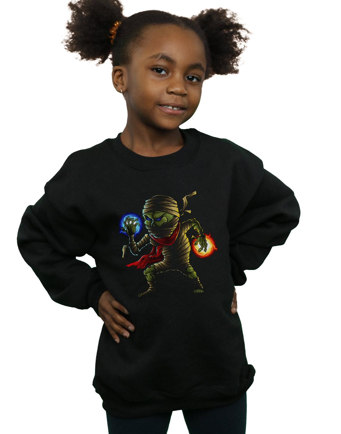 Drewbacca Girls Turn Off Mickey Sweatshirt