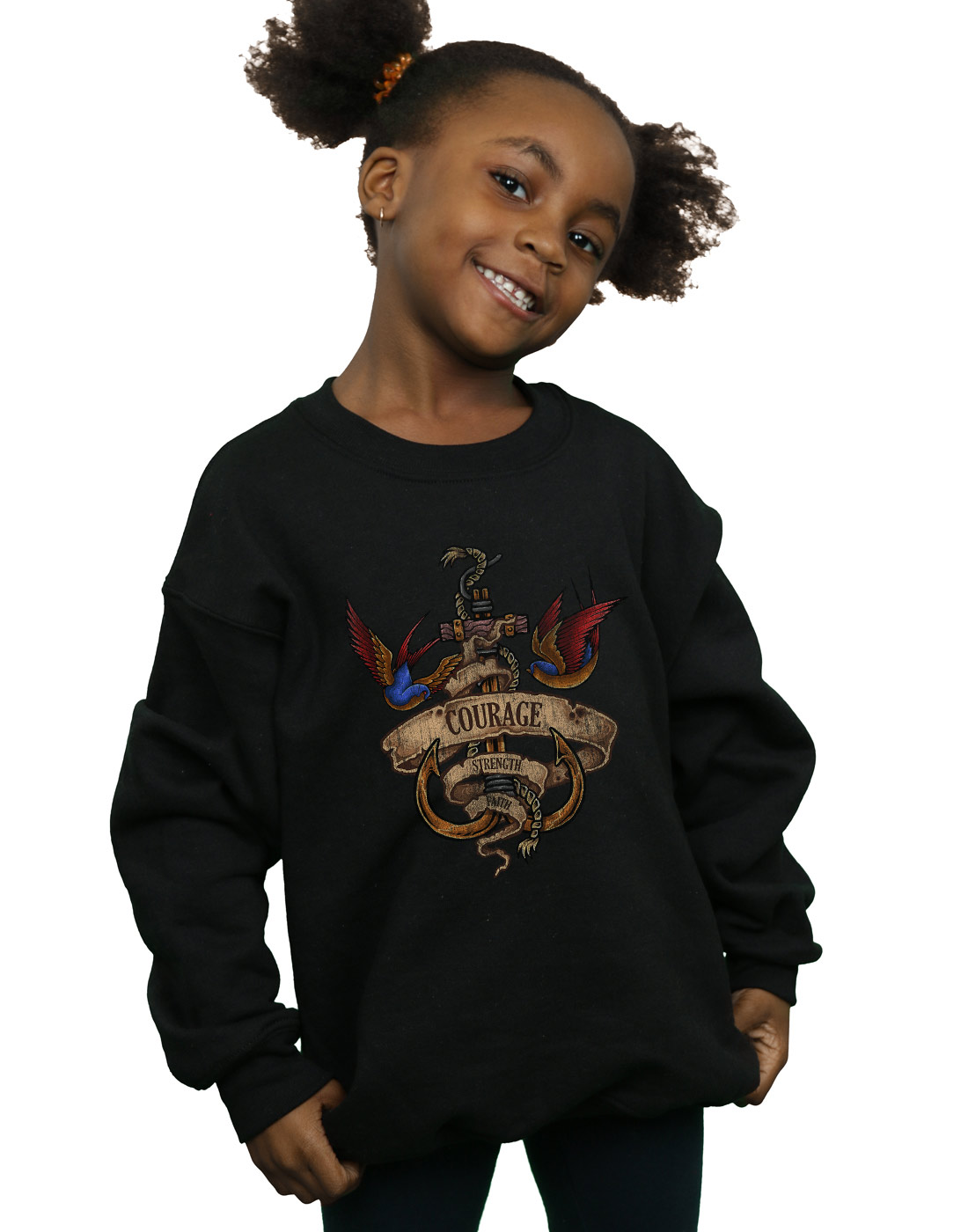 Absolute Cult Drewbacca Girls Keep It Old School Sweatshirt