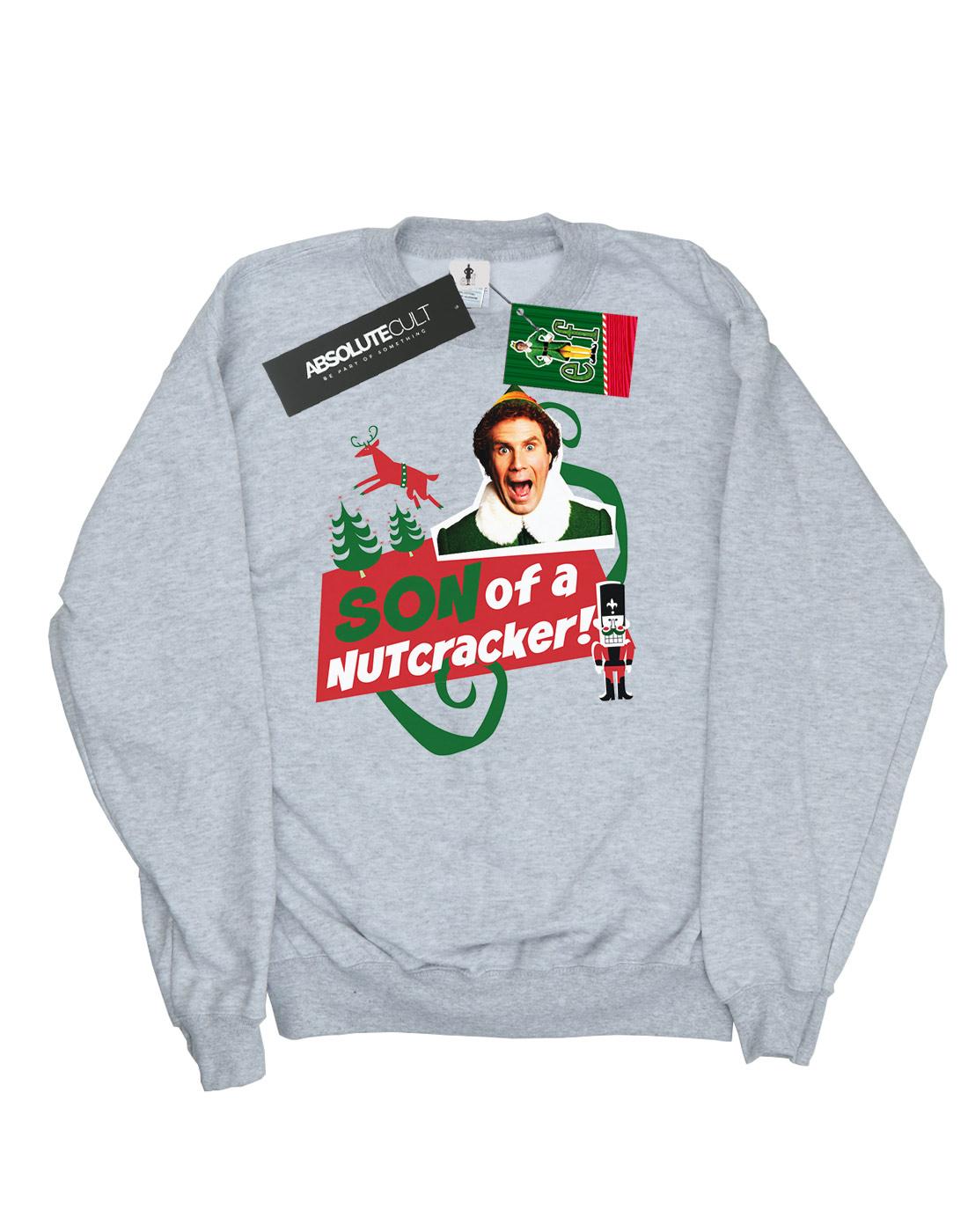 Elf Boys Son Of A Nutcracker Sweatshirt Ebay