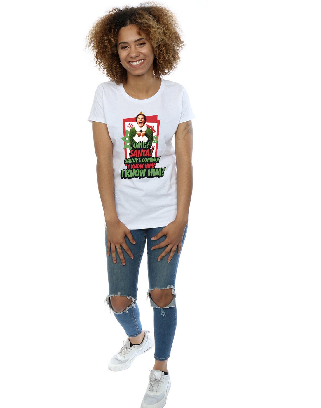 Elf-Femme-Omg-Santa-T-Shirt miniature 25