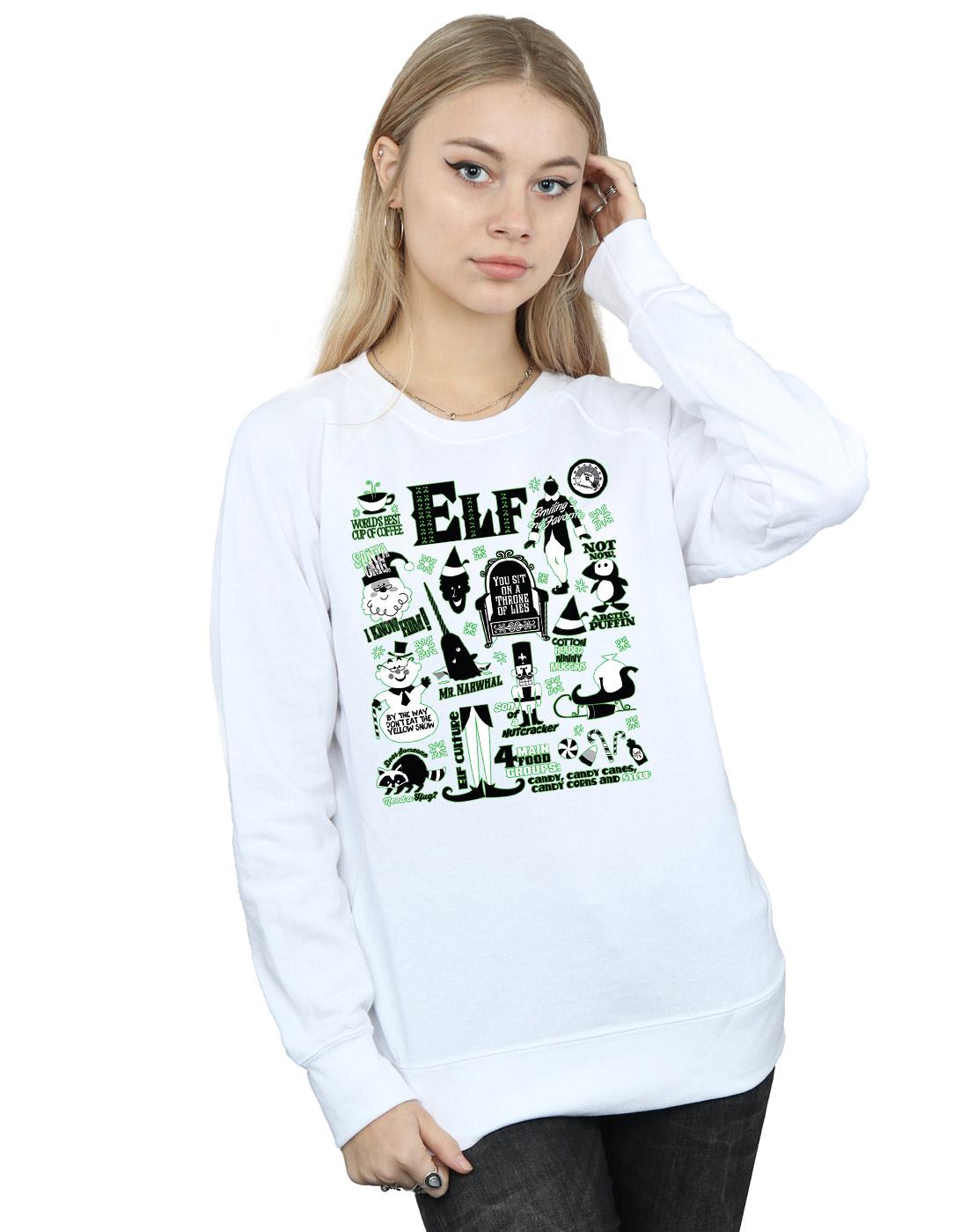 Elf-mujer-Infographic-Poster-Camisa-De-Entrenamiento