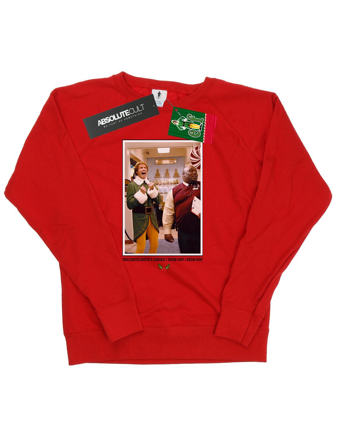 Elf Damen OMG Santa Santa Santa Photo Sweatshirt | Stabile Qualität  | Geeignet für Farbe  | Um Eine Hohe Bewunderung Gewinnen Und Ist Weit Verbreitet Trusted In-und   | Langfristiger Ruf  | Gute Qualität  0840bd
