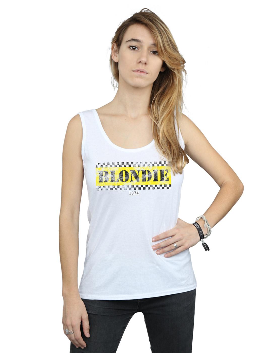 Blondie-Mujer-Taxi-74-Camiseta-Sin-Mangas