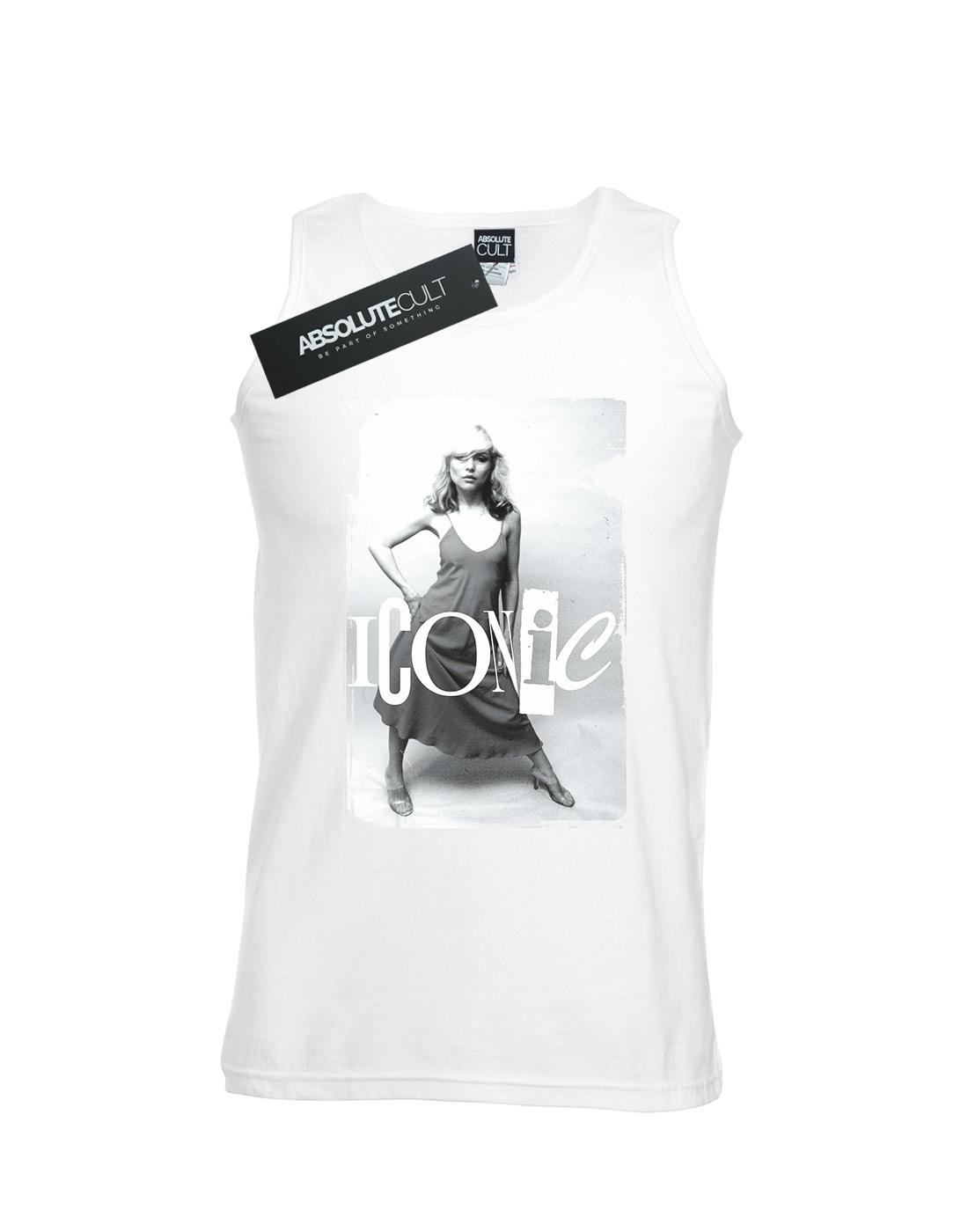Debbie-Harry-Hombre-Iconic-Photo-Camiseta-Sin-Mangas