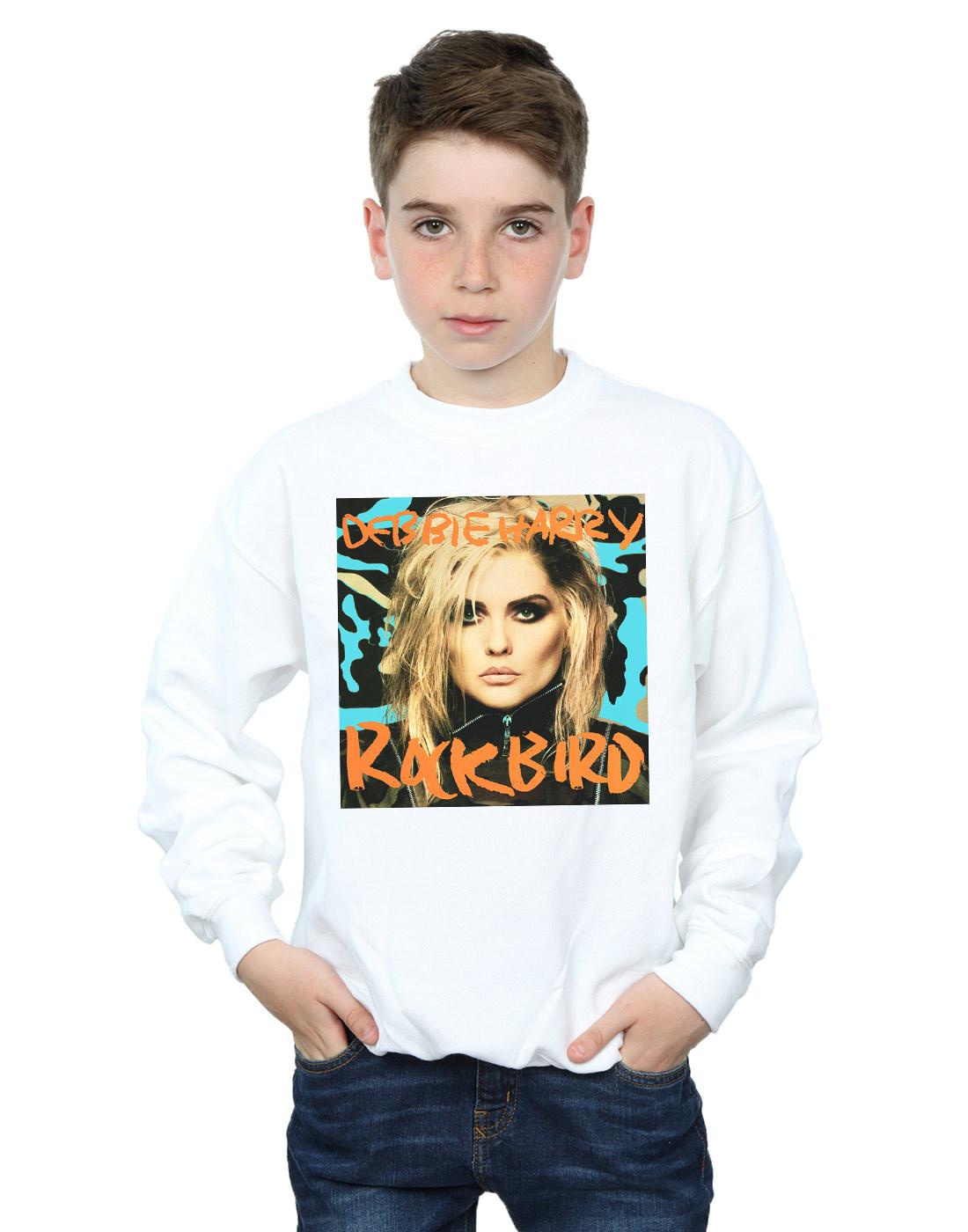 Debbie-Harry-Ninos-Rockbird-Cover-Camisa-De-Entrenamiento