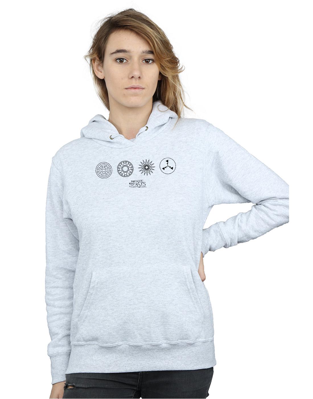 Absolute Cult Friends Girls Door Peephole Sweatshirt