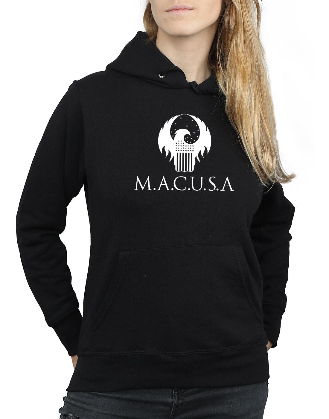 Donna Beasts Fantastic Felpa Cappuccio Macusa Con Logo 5TwfFxw4