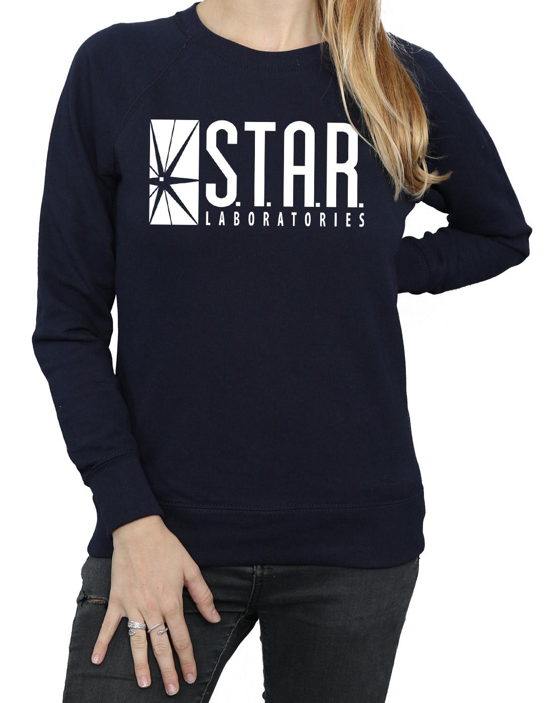 DC Comics Damen Damen Damen The  Flash STAR Labs Sweatshirt | Kompletter Spezifikationsbereich  9a19d9