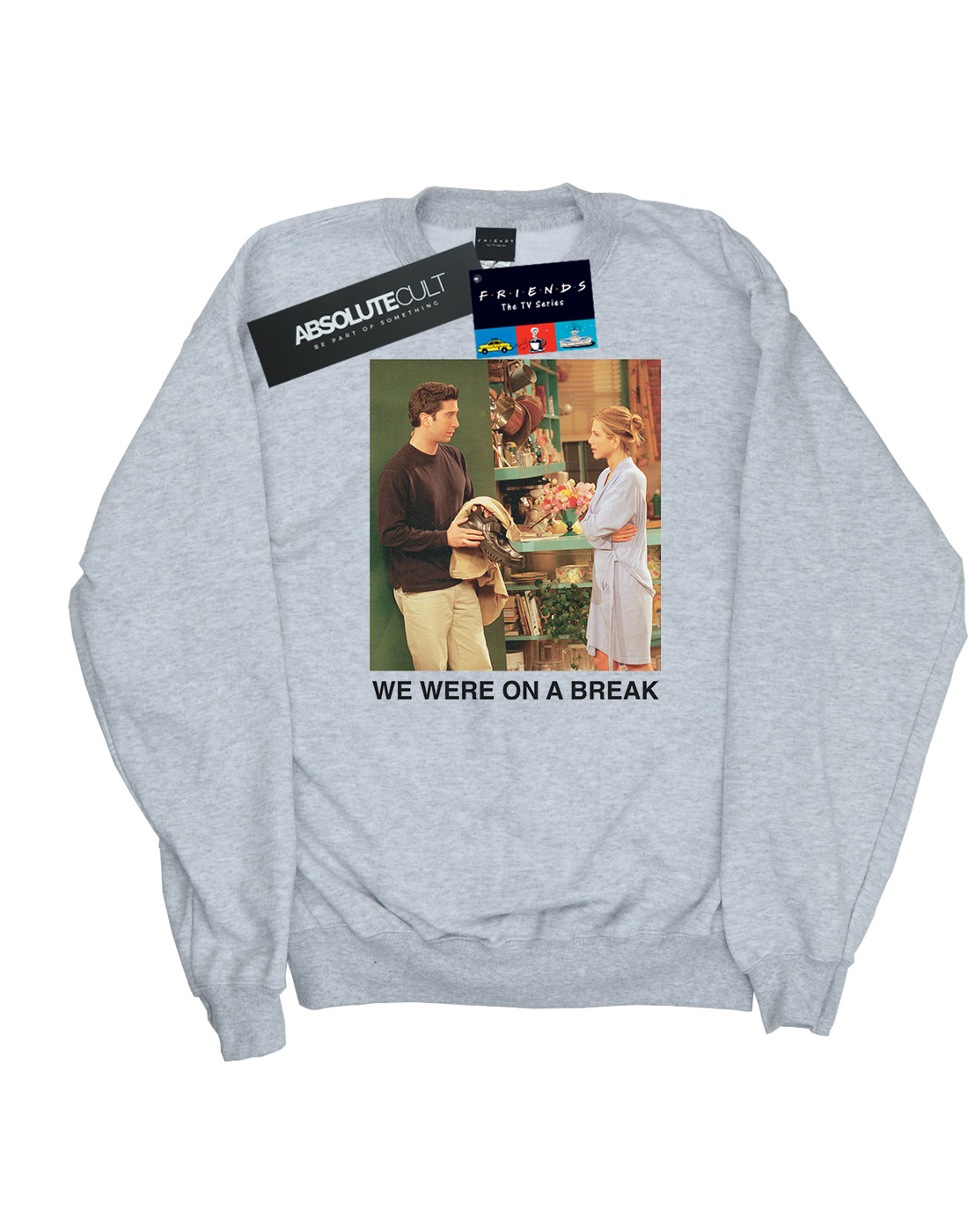 Friends Friends Friends Damen We Were On A Break Robe Sweatshirt | Schöne Farbe  | Spielen Sie auf der ganzen Welt und verhindern Sie, dass Ihre Kinder einsam sind  | Erste Gruppe von Kunden  c8a517