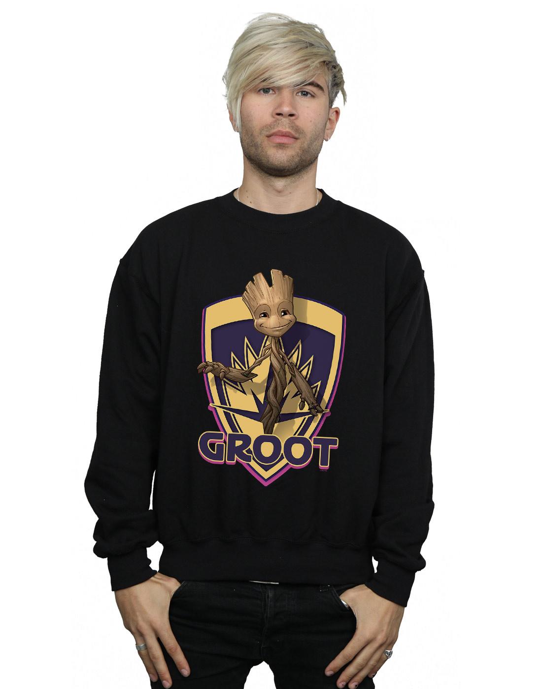 Marvel Girls Guardians Of The Galaxy Groot Today/'s Mood Sweatshirt