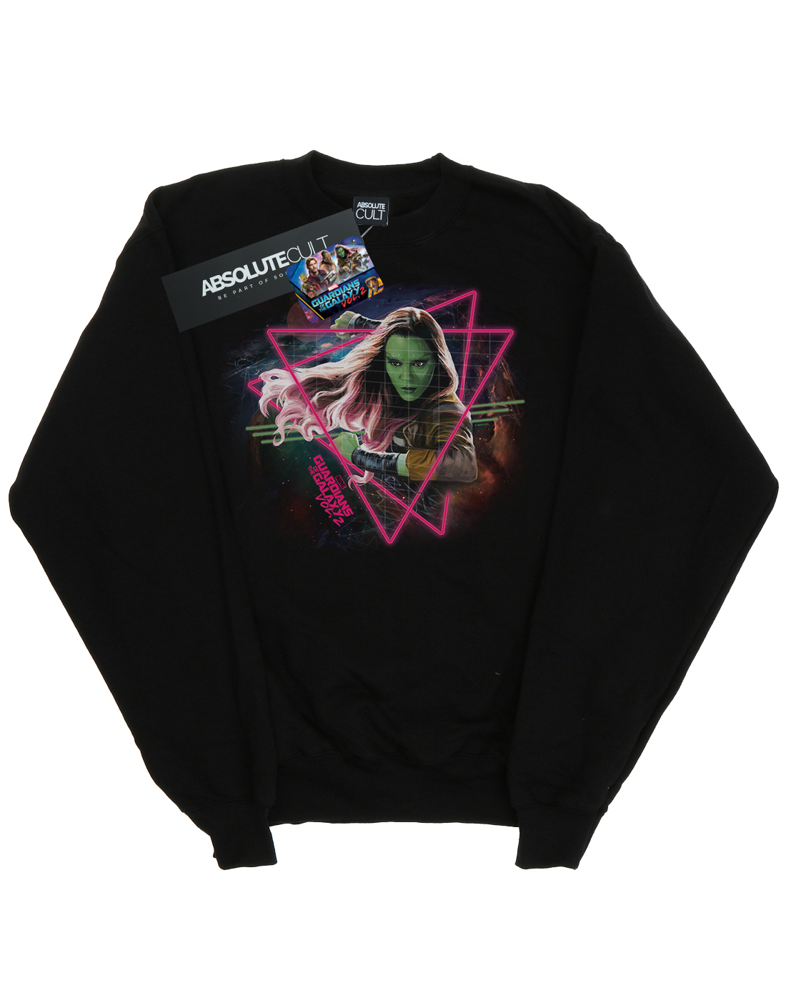 Of Neon Felpa The Gamora Uomo Galaxy Guardians Marvel qXB8nwEX