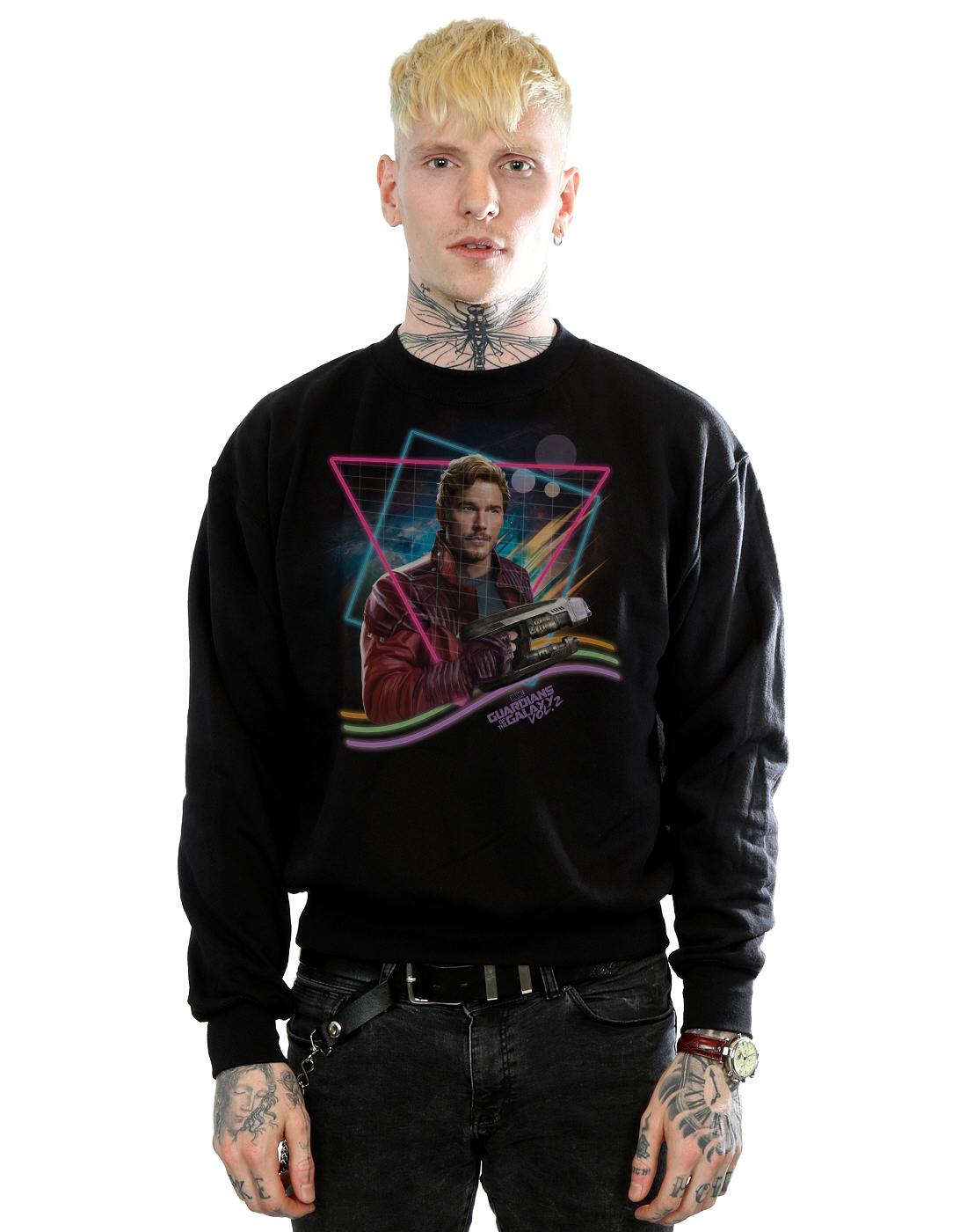 Neon De Lord Galaxie Homme Sweat Les Gardiens Star shirt La Marvel t87RAXnqA