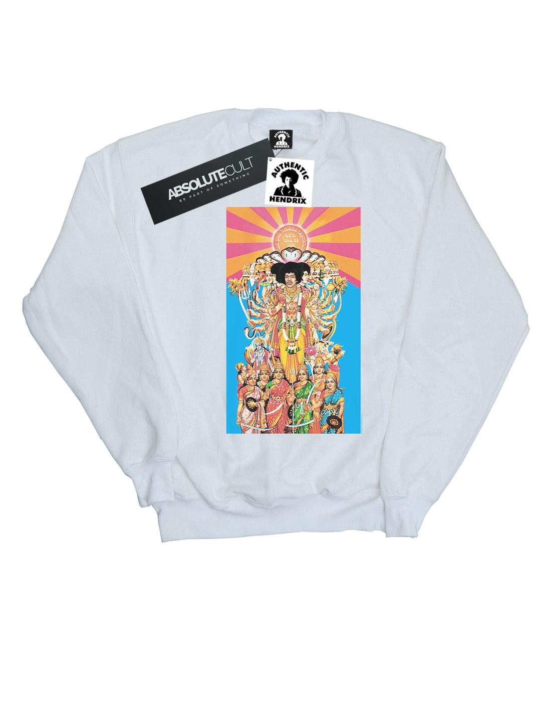 ABSOLUTECULT Jimi Hendrix Girls Smash Hits Sweatshirt